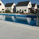 Domki letniskowe Palm Rogowo basen podgrzewany na terenie osrodka