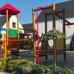 Domki letniskowe Palm Rogowo plac zabaw dla dzieci