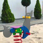 Domki letniskowe Palm Rogowo sala hustawki dla dzieci