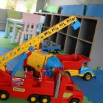 Domki letniskowe Palm Rogowo sala zabaw dla dzieci